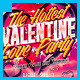Hot Valentine Love Party Flyer - GraphicRiver Item for Sale