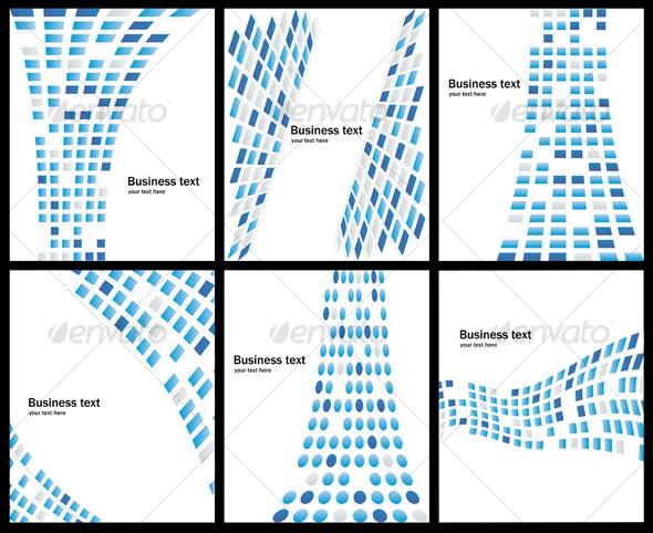 GraphicRiver Business abstract background collection 127835