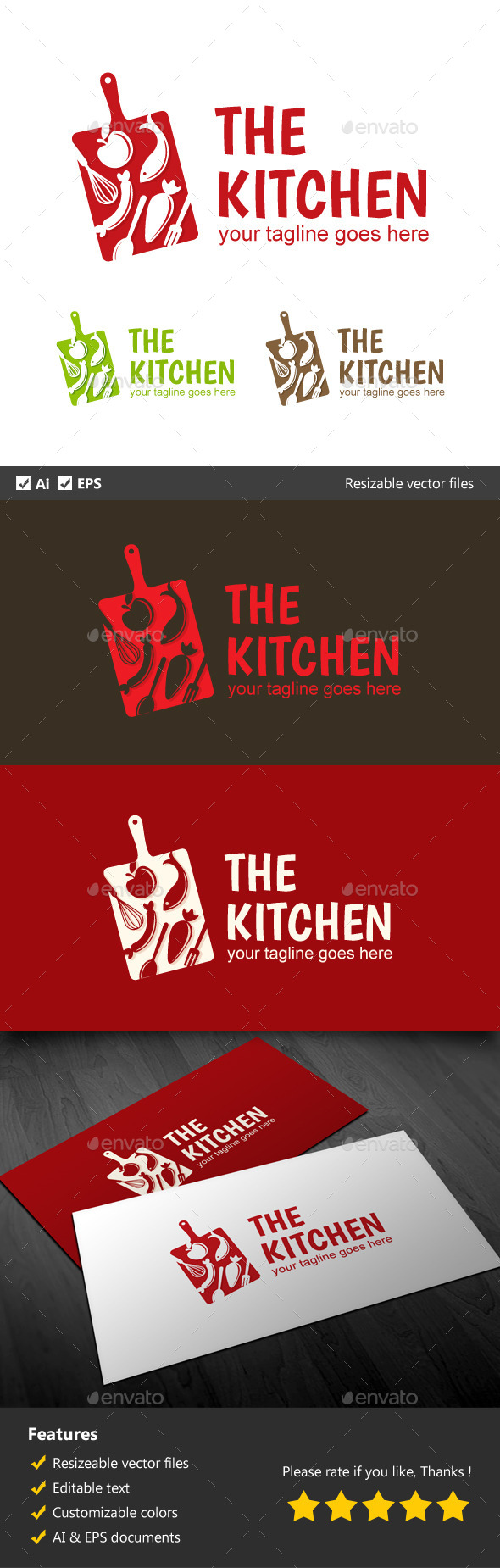 GraphicRiver The Kitchen 10117805