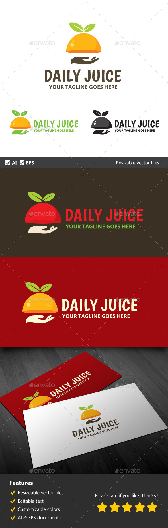 GraphicRiver Daily Juice 10117848