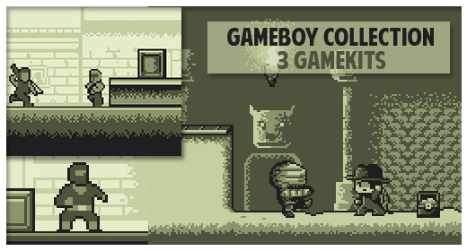 Gameboy assets collection