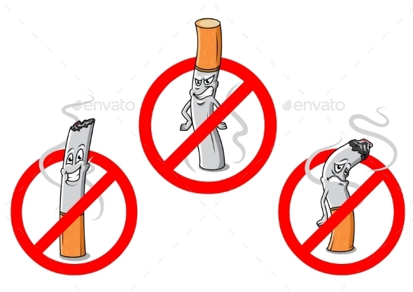 GraphicRiver No Smoking 10117890