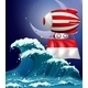 Floating Balloon with the Flag of Monaco - GraphicRiver Item for Sale