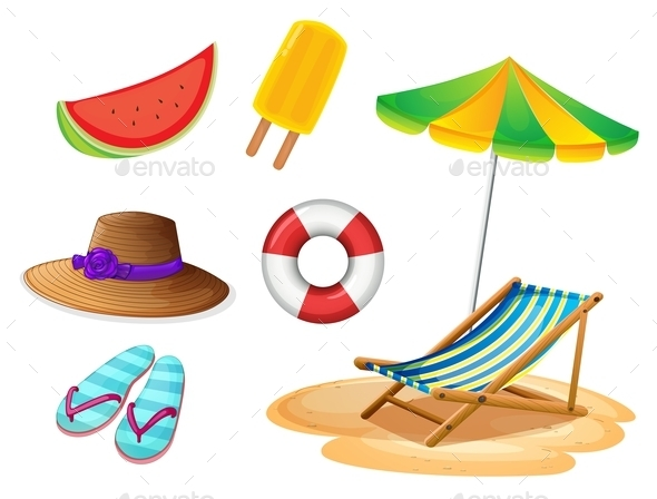 GraphicRiver Summer Items 10118024
