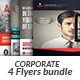 Corporate Business 4 Flyer Bundle - GraphicRiver Item for Sale