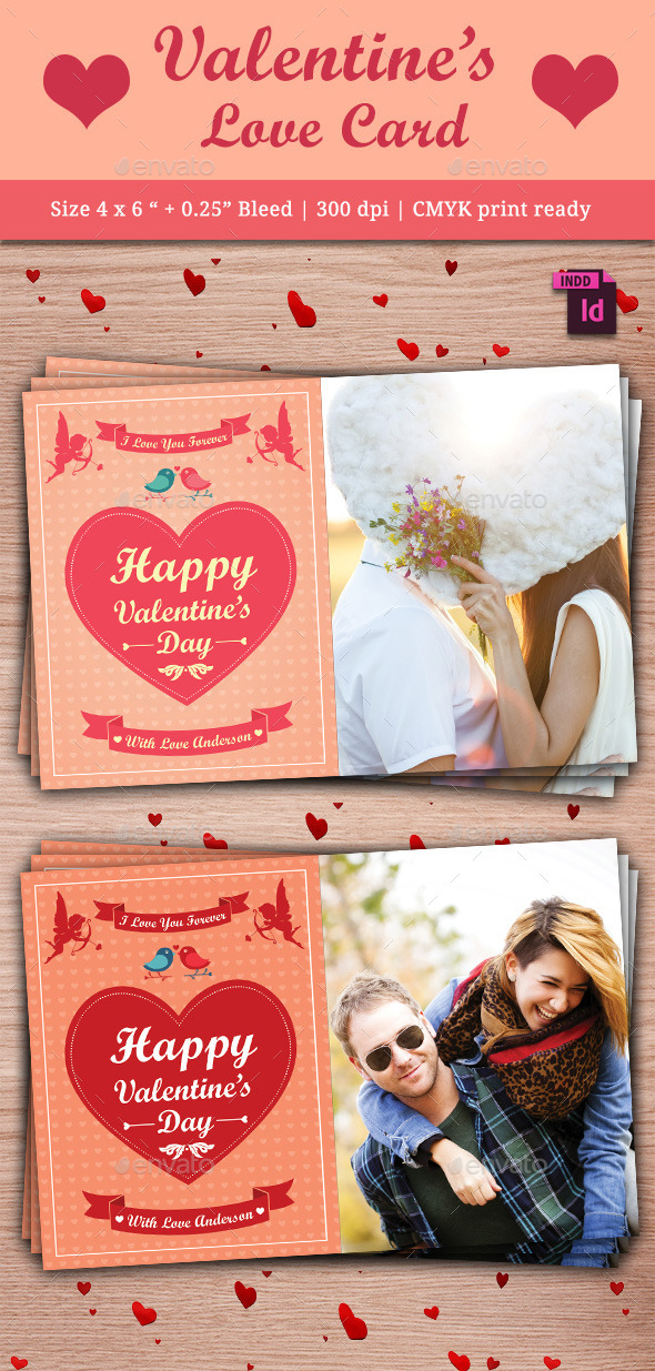 GraphicRiver Valentine s Day Card 10083713