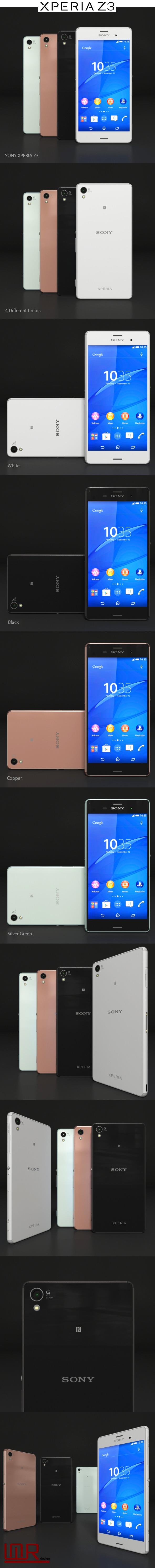 3DOcean Sony Xperia Z3 LTE 10118533