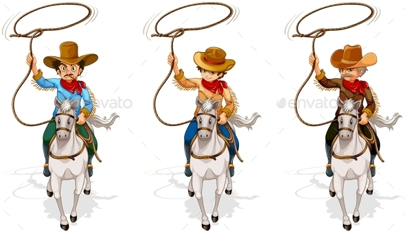 GraphicRiver Cowboys 10118693