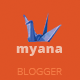 Myana - Responsive Blogger Templates - ThemeForest Item for Sale