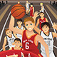 Young Men Playing Basketball - GraphicRiver Item for Sale
