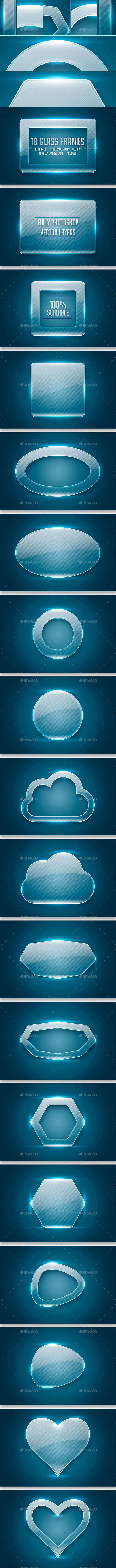 GraphicRiver Glass Frames 10119291