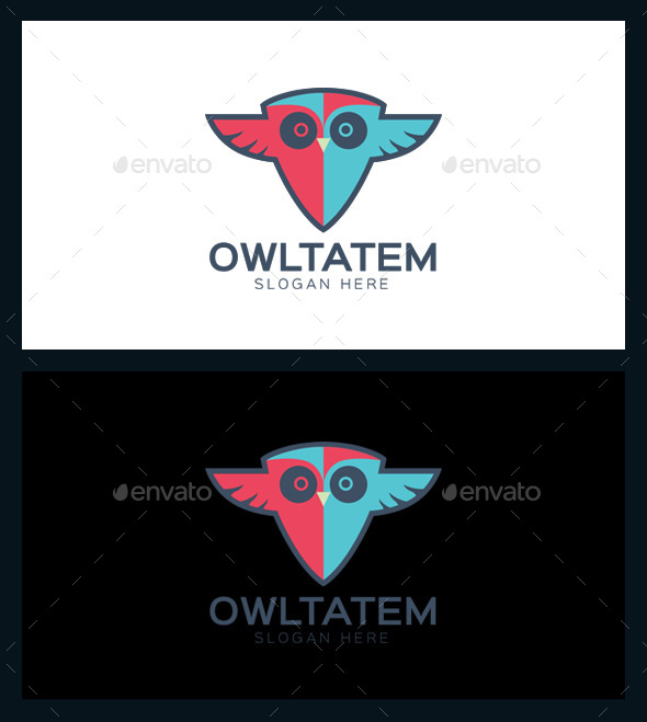 GraphicRiver Owl Tatem Logo Template 10095263