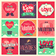 Valentines Day Cards - GraphicRiver Item for Sale