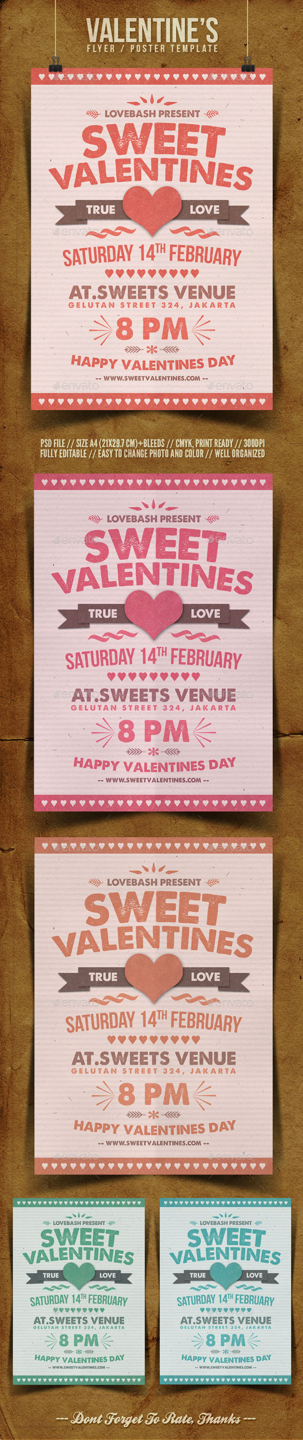 GraphicRiver Valentine s Day Flyer Template 10119347