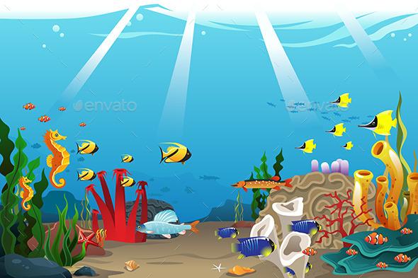 GraphicRiver Marine Life 10119699