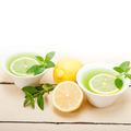 mint infusion tea tisane with lemon - PhotoDune Item for Sale