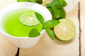 mint infusion tea tisane with lime - PhotoDune Item for Sale