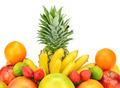 fruit set isolated on a white background - PhotoDune Item for Sale