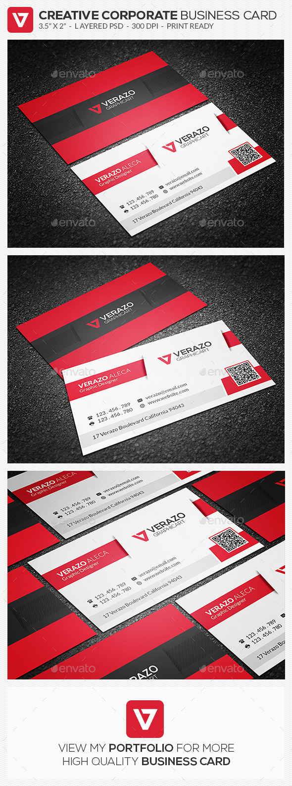 GraphicRiver Creative Corporate Business Card 71 10121315