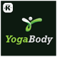 Yoga Body Logo - GraphicRiver Item for Sale