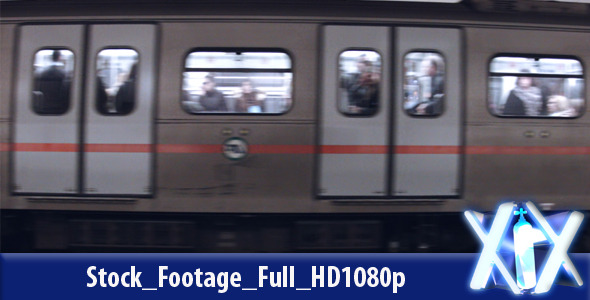 VideoHive Subway Train 10121588