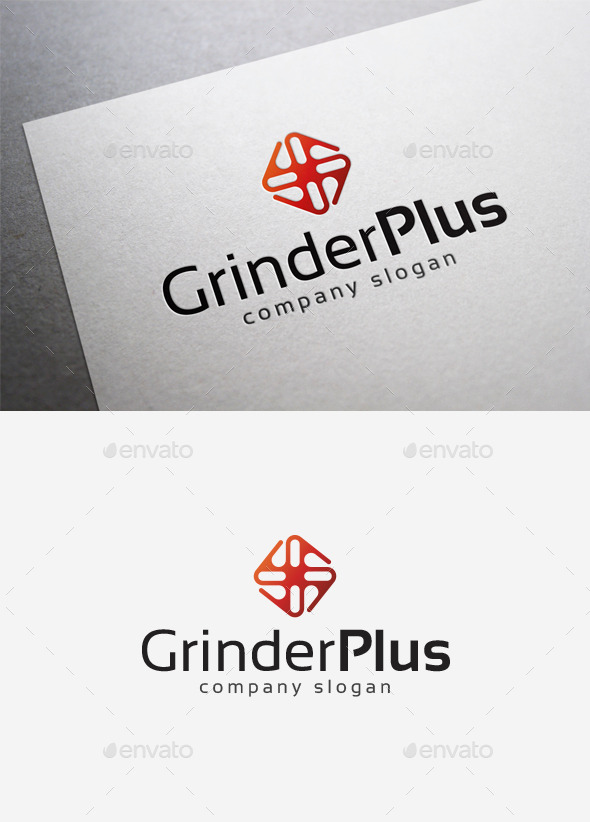 GraphicRiver Grinder Plus Logo 10122060