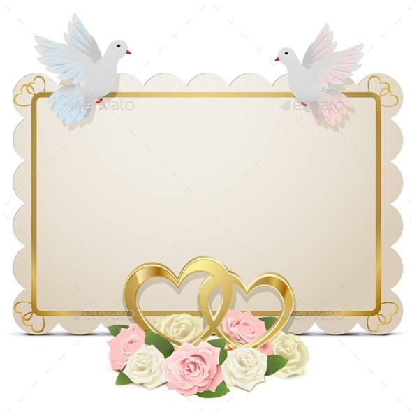 GraphicRiver Vector Wedding Board 10122707