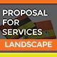 Landscape Service Proposal Template - GraphicRiver Item for Sale