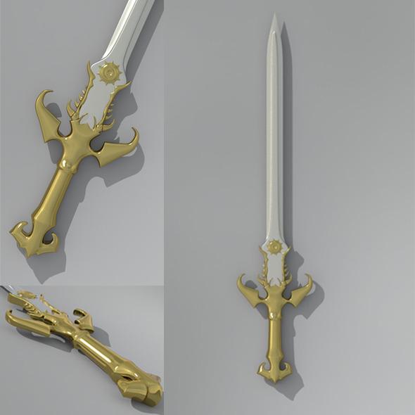 3DOcean Sword 10122850