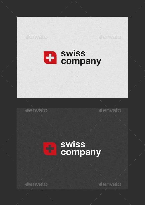 GraphicRiver Swiss Company Logo 10055293