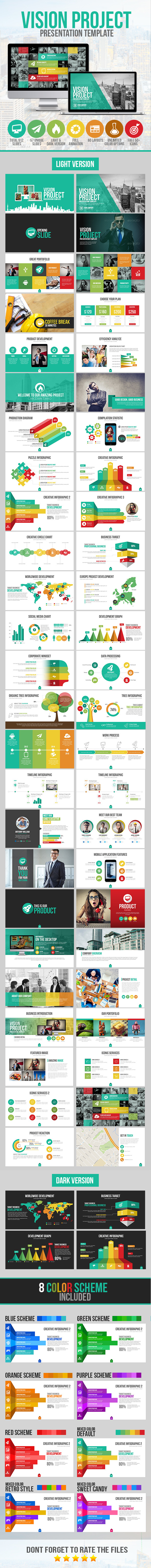 GraphicRiver Vision Project Presentation Template 10122872