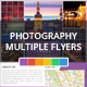 Photography Multiple Flyers Template - GraphicRiver Item for Sale