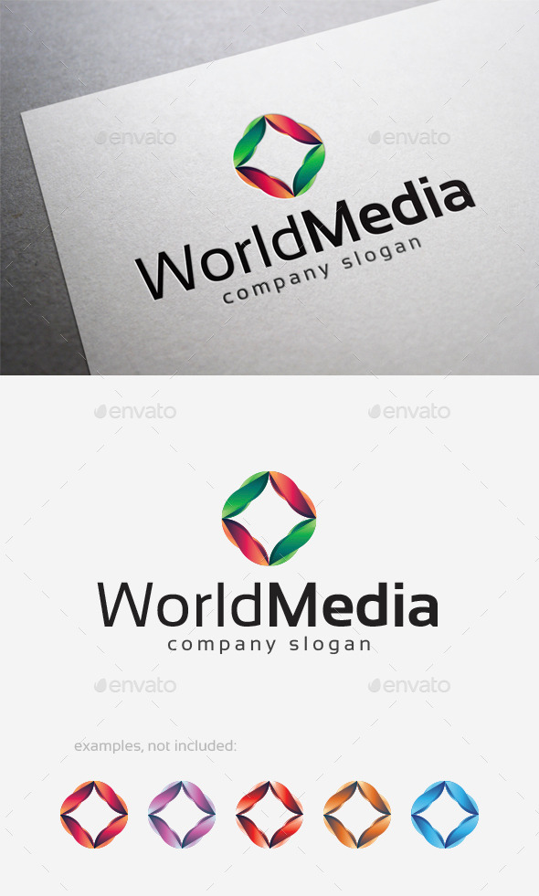 World Media Logo