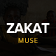 Zakat - One Page Charity Muse Template - ThemeForest Item for Sale