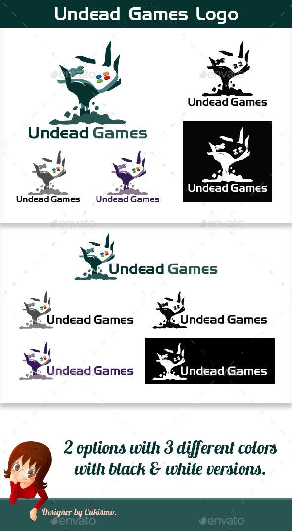 GraphicRiver Undead Games Logo 10124460