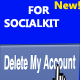 Account Delete for Socialkit (Add-ons) Download