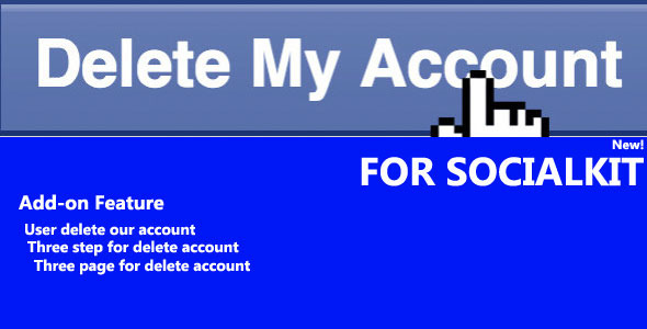 CodeCanyon Account Delete for Socialkit 10124462