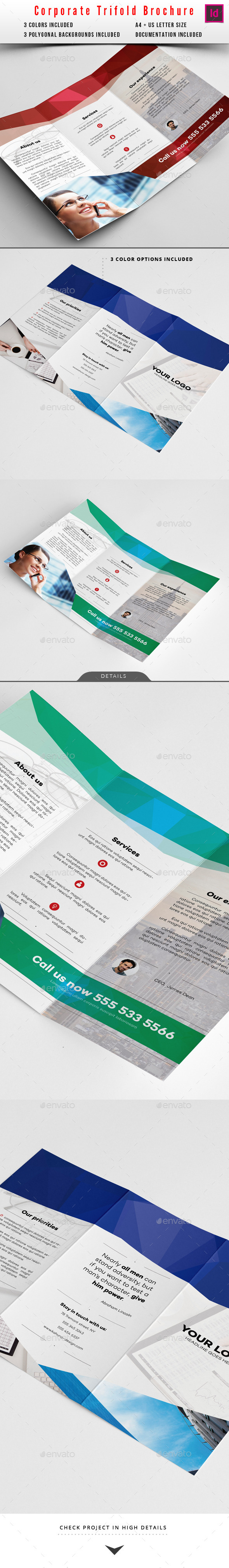 GraphicRiver Corporate Trifold Brochure 10124544