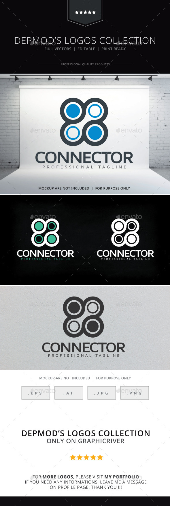 GraphicRiver Connector Logo 10124555