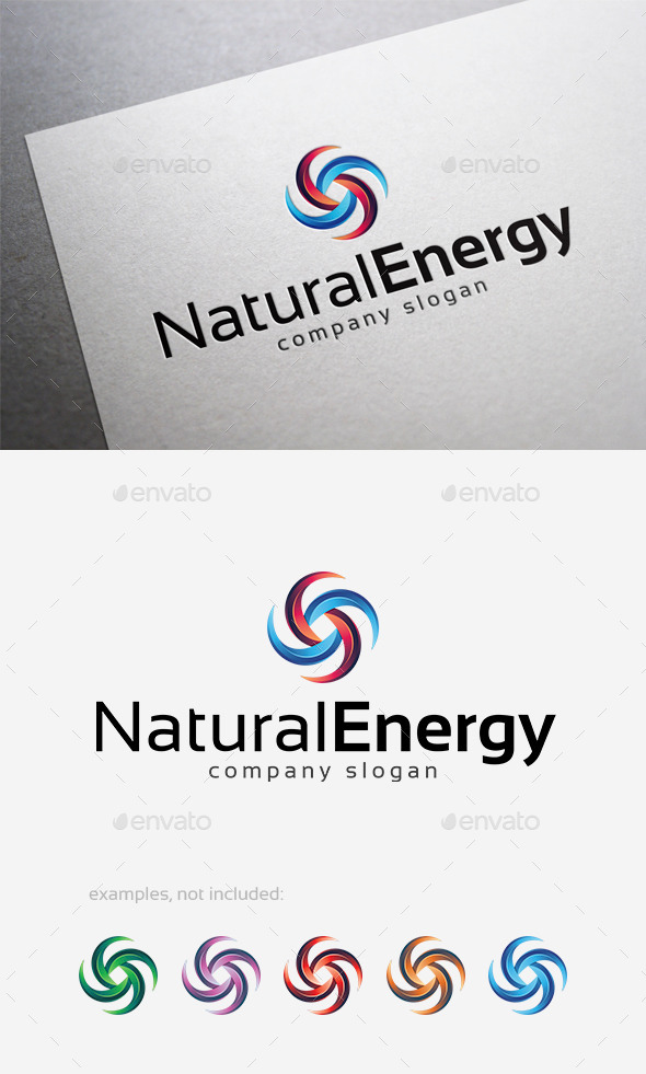 GraphicRiver Natural Energy Logo 10124692