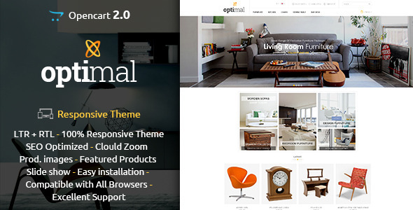 ThemeForest Optimal Opencart Responsive Theme 10124770