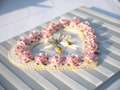 pink rose on the wedding book in wedding day - PhotoDune Item for Sale