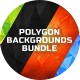 60 Polygon Backgrounds Bundle - GraphicRiver Item for Sale