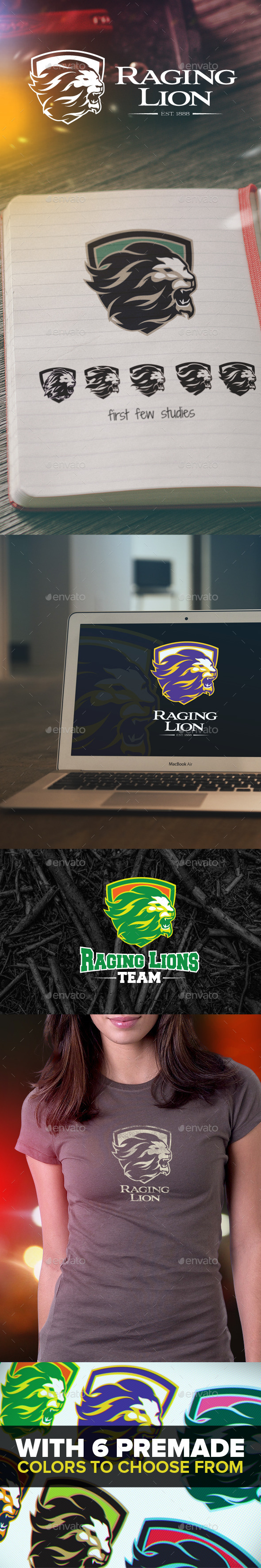 Raging Lion Logo