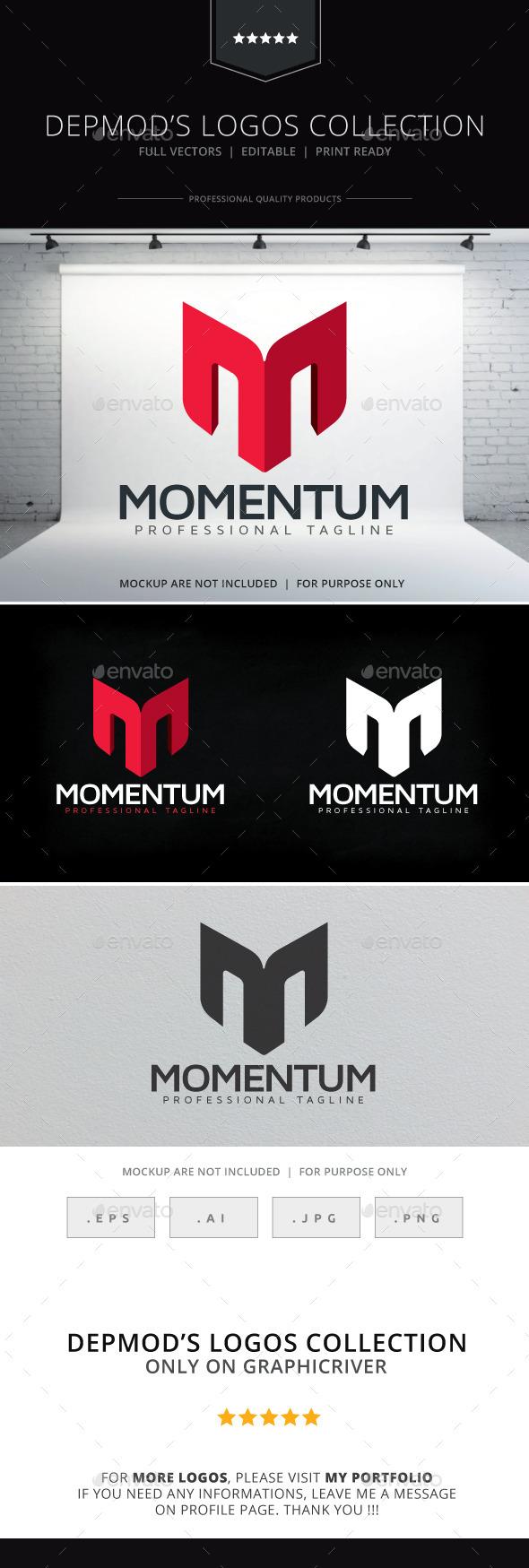 GraphicRiver Momentum Logo 10126140