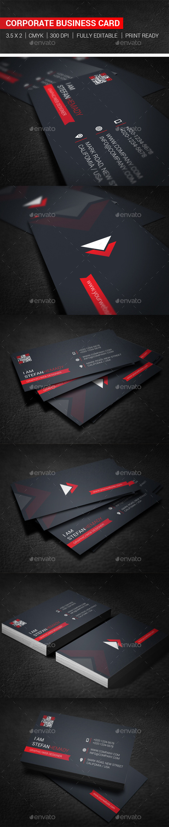 GraphicRiver Corporate Business Card 10126349