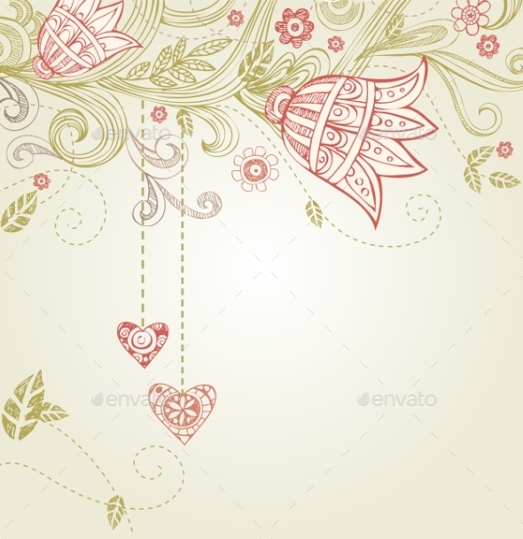 GraphicRiver Greeting Card for Wedding or Valentine s Day 10126351