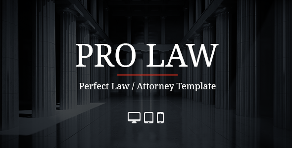 ThemeForest PRO Law Adobe Muse Template 10126509
