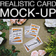 Photorealistic Cards and Invites Mock-Up Maker v2 - GraphicRiver Item for Sale