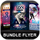 Party Flyer Bundle 08 - GraphicRiver Item for Sale